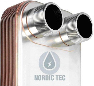 """Výmenník tepla NORDIC Zes 40kW 32-doskový 1"""""""