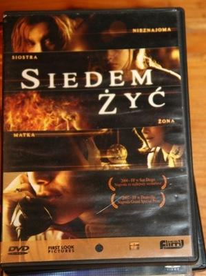 SIEDEM ŻYC       DVD