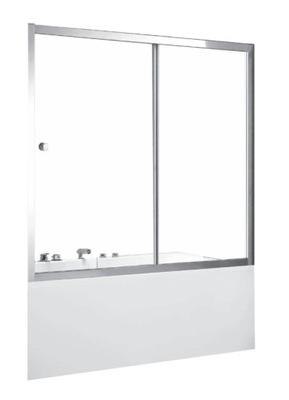 Sprchové dvere - Obrazovka je kúpelňa Duo Slide II 150x150 cm