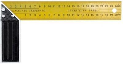 УГОЛЬНИК СТОЛЯРНЫЙ 350 ММ СМЕШАННАЯ металлический 18350