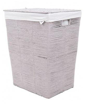 Корзина по стирке белья плетеный Серый ванные комнаты