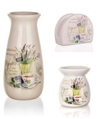 комплект ЛАВАНДА 3 элем. салфеток камин ваза