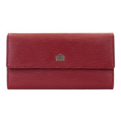 2e83884fc5a11 WITTCHEN czerwony nowy skóra portfel lakierowany - 7784177623 ...