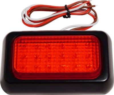 Lampa LED PRZECIWMGŁOWA czerwona 12V 24V JAKOŚĆ