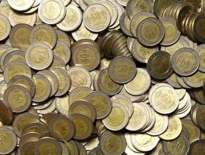 Турция - Монеты - 50 Kurus - 100 штук - ДЕШЕВЛЕ !!