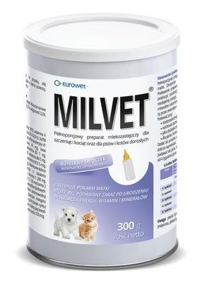 MILVET молоко для щенков и котят 300г