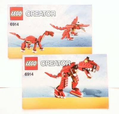Instrukcje Lego Creator 1 7537142351 Oficjalne Archiwum Allegro