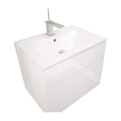 ШКАФ для ванны мебель ОРТОН Белый блеск посмотри