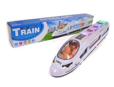 *Pociąg Pendolino na Baterie Światło-Dźwięk*