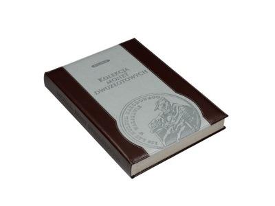 АЛЬБОМ КЛАСТЕР на Монеты 2  и 5  1995-2040 кожа