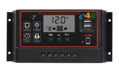Солнечная регулятор зарядки батареи 30A с USB