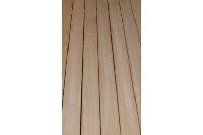 Sauna listwa deska do sauny abachi samba 160 cm