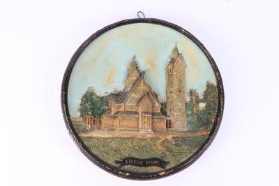 Карпач Церковь Ванг Johann Maresch 1900 r