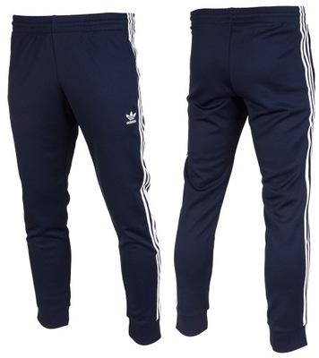 Spodnie męskie dresowe adidas originals czarne r.S