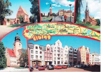 ЭЛЬБЛОНГ - РЫБАЛКА - ЦЕРКОВЬ - МОСТ - ГОРОДСКАЯ РАТУША - КАРТА