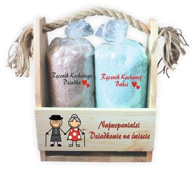 Kit-účtovná s uteráky Deň starých rodičov