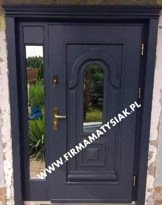 двери Внешние деревянные Графит ,,Стиль