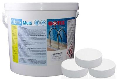 Chlórové Tablety 200g Multifunkčné Gotix Multi 5 kg