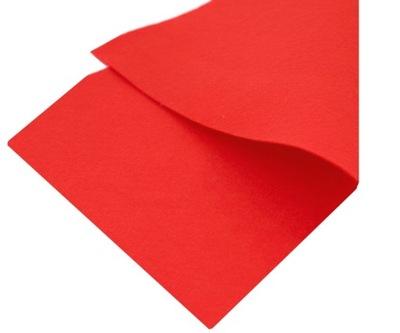 красный войлок 1 мм в ЛИСТАХ 30 x 23 см - ЦВЕТА