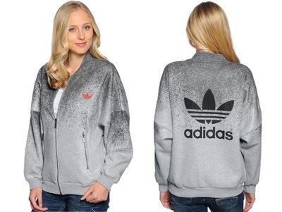 najlepsze trampki sprzedawca detaliczny super słodki Bluza Adidas Rita Ora AY7142 damska rozpinana 44 ...