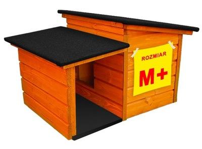 буде деревянная утепленная домик для кота СОБАКА года. М +