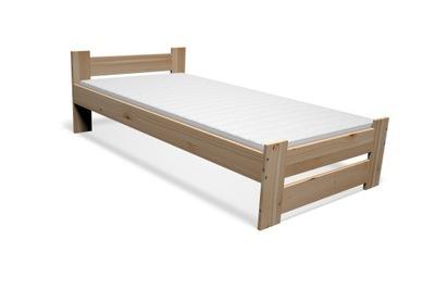 кровать деревянные сосна 90х200 + КАРКАС + Матрас