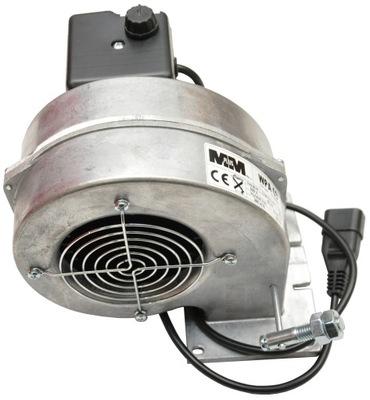 Dúchadlo, ventilátor pre kotol, pec. NASTAVENIE VÝKONU
