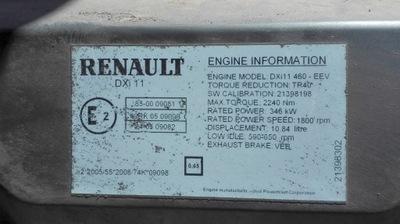 renault премиум 460dxi eev двигатель комплектный мотор2 - фото