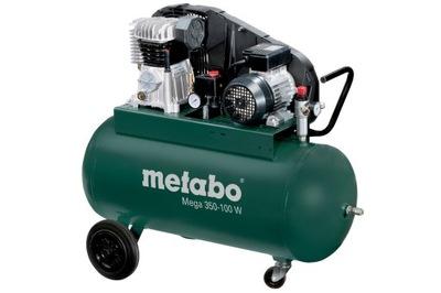 Kompresor, príslušenstvo - Pneumatický kompresor Metabo MEGA 350-100W 90L