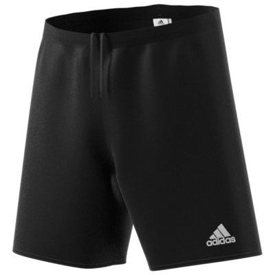Adidas Spodenki Sportowe Dziecięce Czarne 164cm