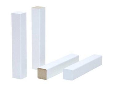 Угол Универсальный Белый МДФ 8 см планки 2шт