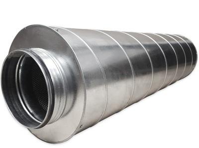 Potrubie, rúra, spona - SIL 200/900 spiro rigidný akustický tlmič