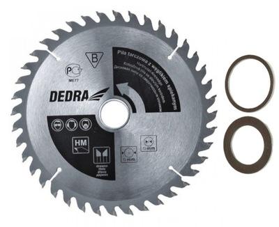 Rezací kotúč - Pilový kotúč na drevo 255x30mm 40z DEDRA + ZDARMA