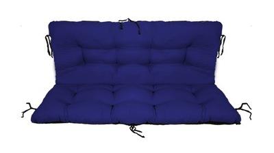 подушка на скамейку садовую качели 120x60x50 chab