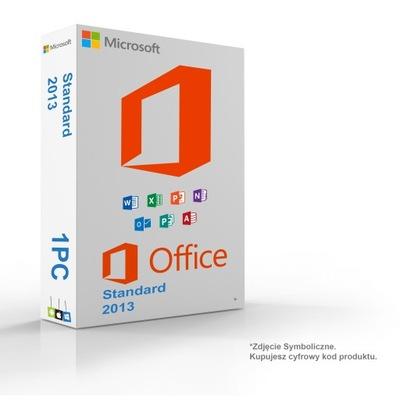 Microsoft Office 2013 Standard доставка из Польши Allegro на русском