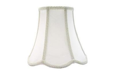 Tienidlo lampy Tieni Retro Rómov biela/biela 18x36x26 cm