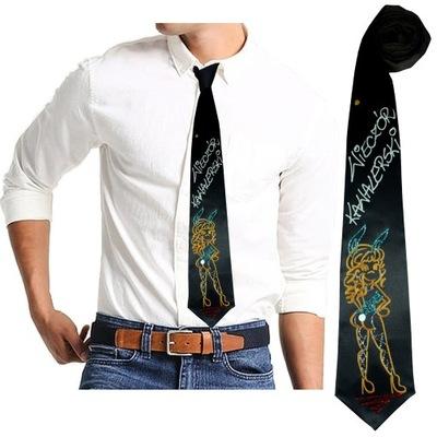 Krawat na WIECZÓR KAWALERSKI kawalerskie 7 WZORÓW
