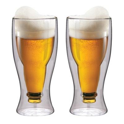 Стаканы пивные кружки термические ??? пиво Пиво-500 мл 2шт