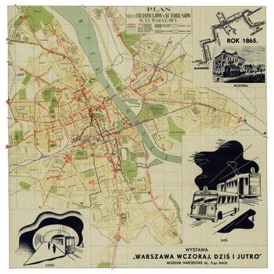 план города Связь 1938 года.