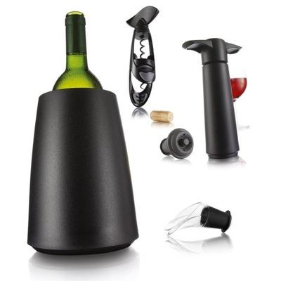 Sada VacuVin darček víno, otvárač