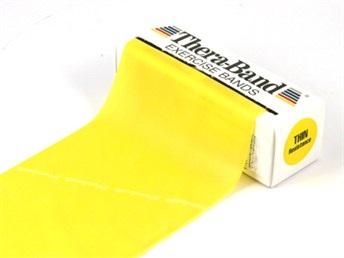 Pásky rehabilitácia 2,5 m Thera-Band žltá