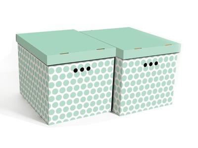 коробки , коробку с точки зеленые XL 2 штук .