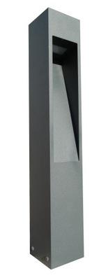 Záhradné svietidlo vstupné - Záhradná lampa MODERN štvorcový stĺp 60 cm