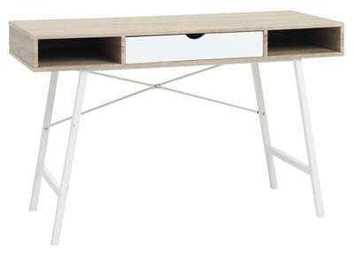 štýl IKEA STÔL PEVNÝ biely dub 120x48x76