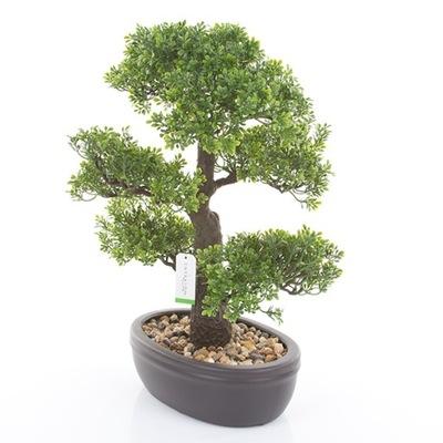 umelé veľkého stromu, BONSAI Ficus 43 cm ficus