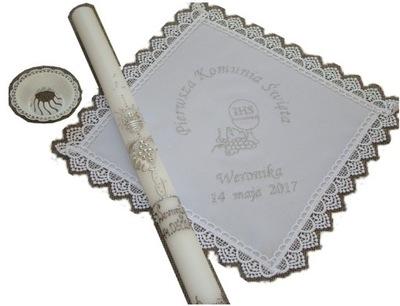 Prvé sv. prijímanie - ŚWIECA + meno vreckového vrecka + dátum