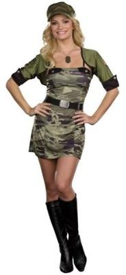 Strój Żołnierz Żołnierza Dziewczyna Pani Oficer SM