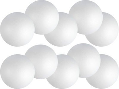 шарики из ПЕНОПЛАСТА 12см 10шт шарики ???