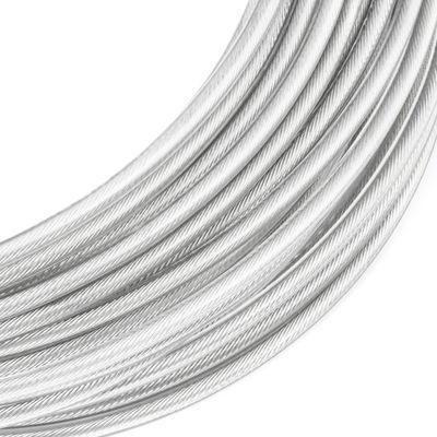lano oceľové lano v PVC 3/4 mm 6x7 20mb