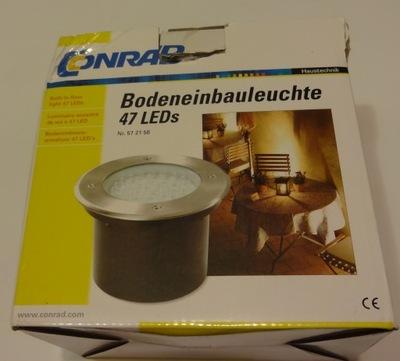 Vonkajšie LED lampa 3.76 Hliník